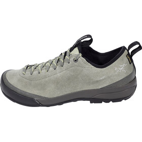 Arc'teryx Acrux SL Leather GTX Approach Shoes Women Castor Gray/Shadow